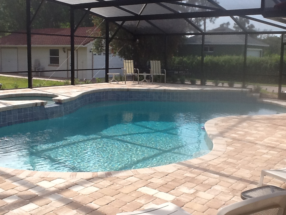 Upgrading To Pool Deck Pavers Outdoor Kitchens Paver Patios Fireplaces