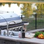 outdoor kitchen zones