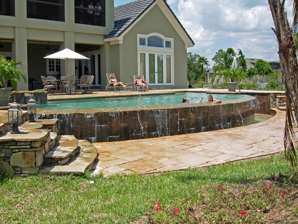Infinity Pools Design Galleries - Orlando