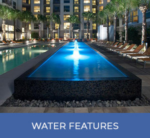 swimming pools with water features gallery