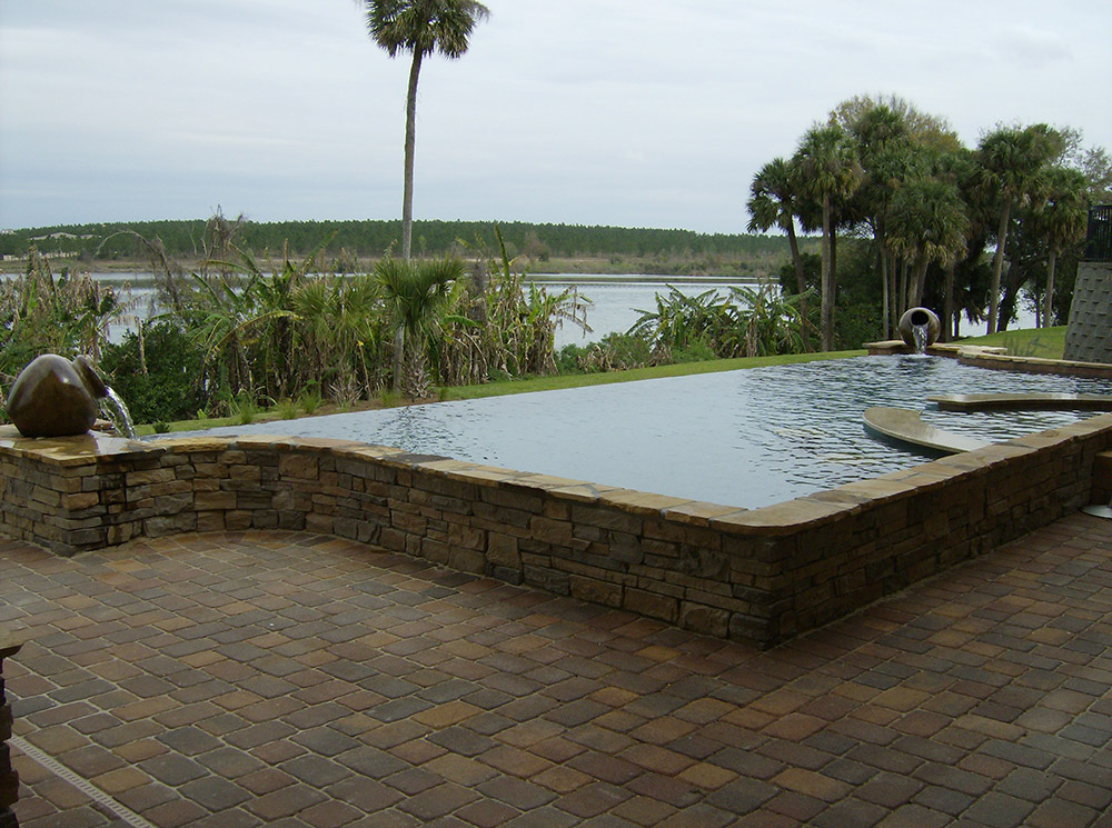 Infinity Pools Design Galleries Orlando